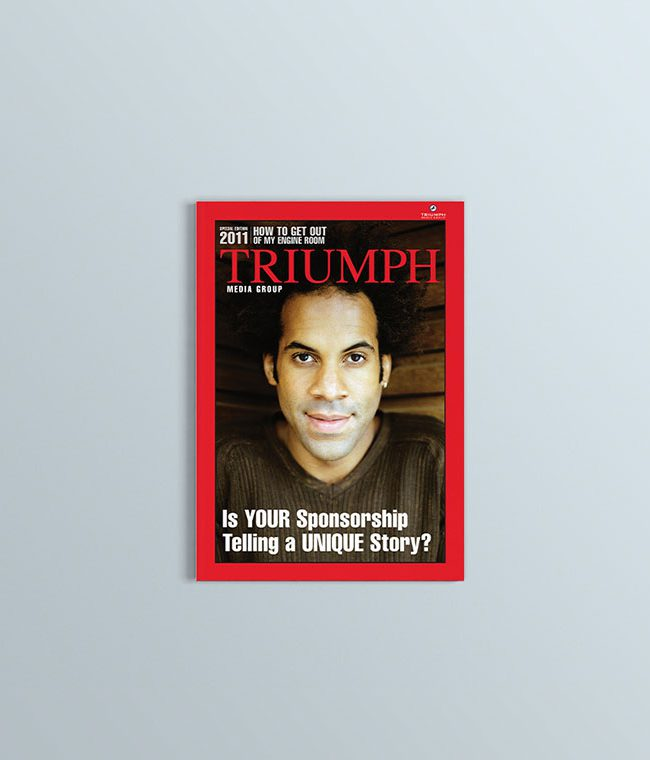 Triumph Magazin Cover